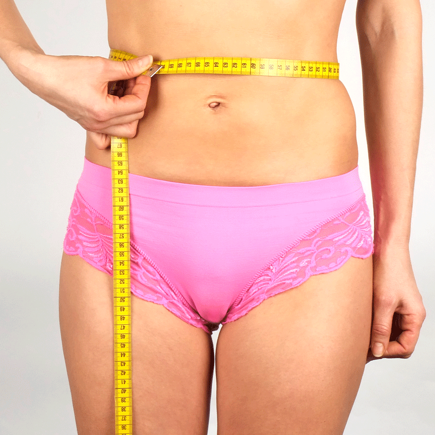 How to measure your waist size - Inkoswiss